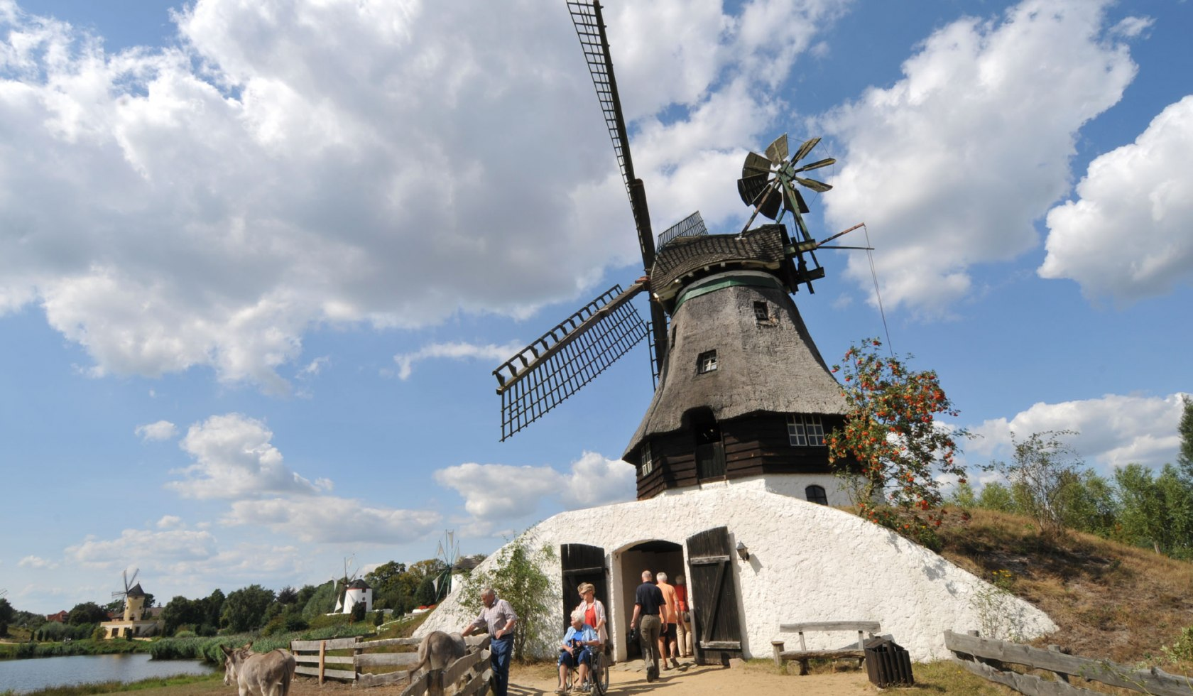 International Wind and Watermill Museum in Gifhorn