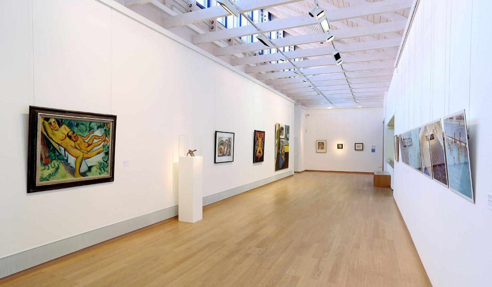 Art Gallery Emden Inside with Collection