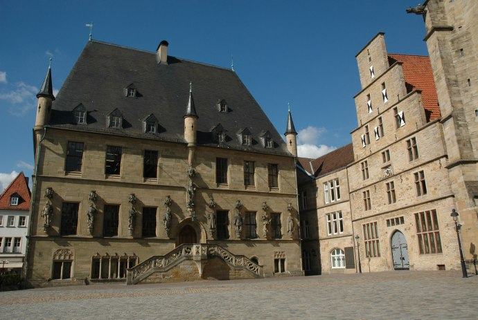 Town hall where the Peace of Westphalia was signed