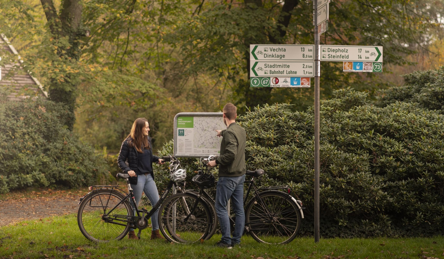 Cycling by numbers in Vechta