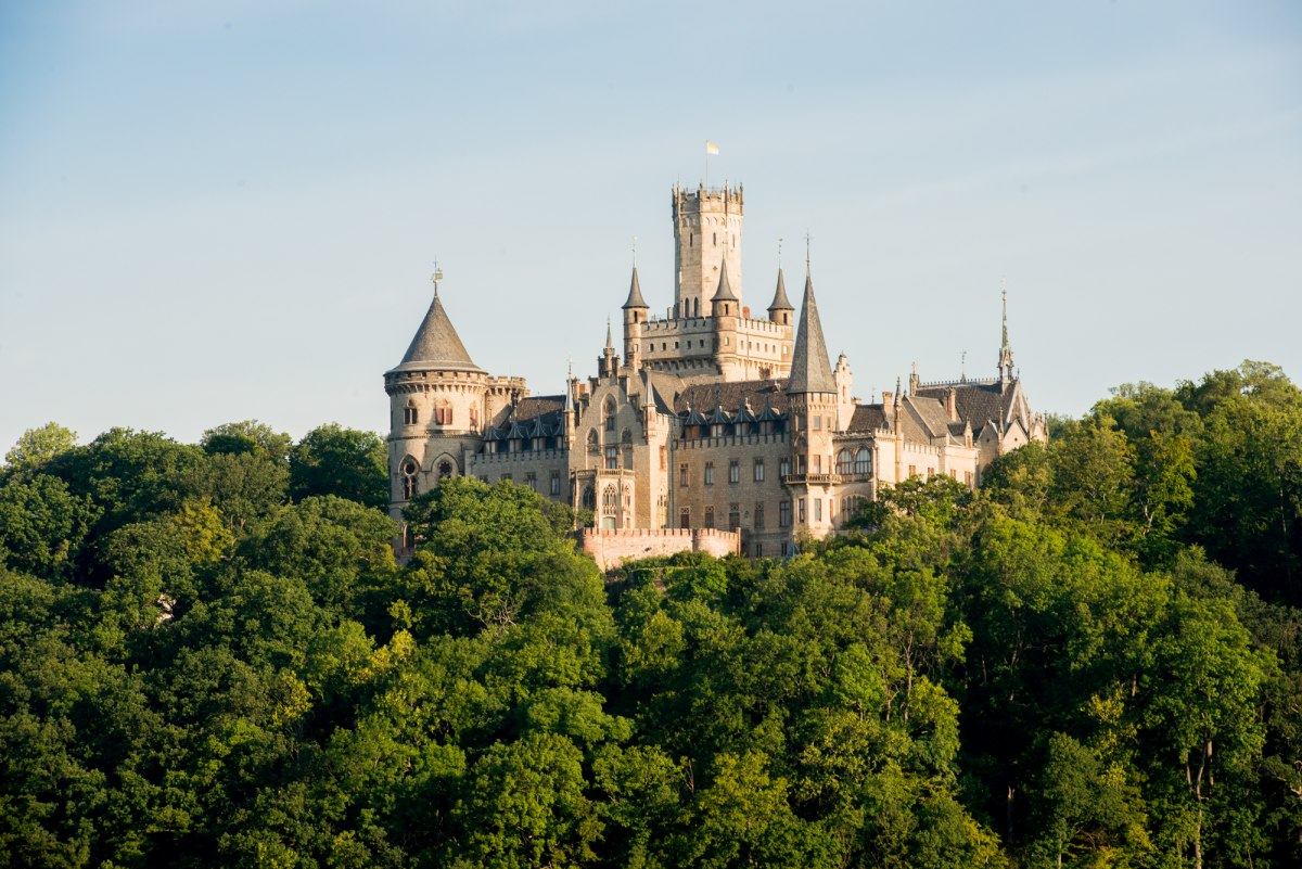View of Marienburg Castle