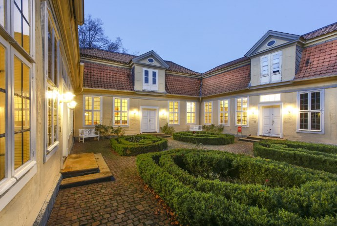 Lessinghaus in Wolfenbüttel. Here Lessing lived and wrote many of his books. Today a literature museum.