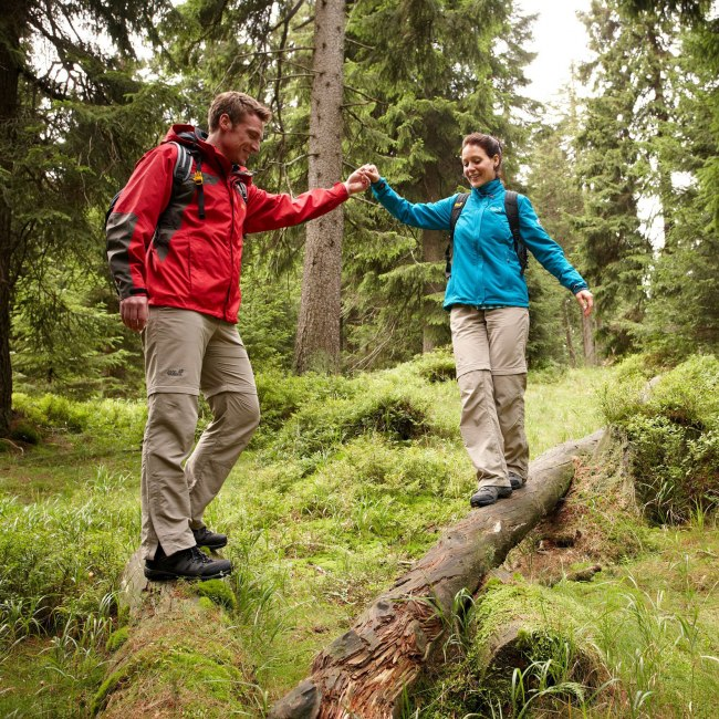 hiking couple in harz