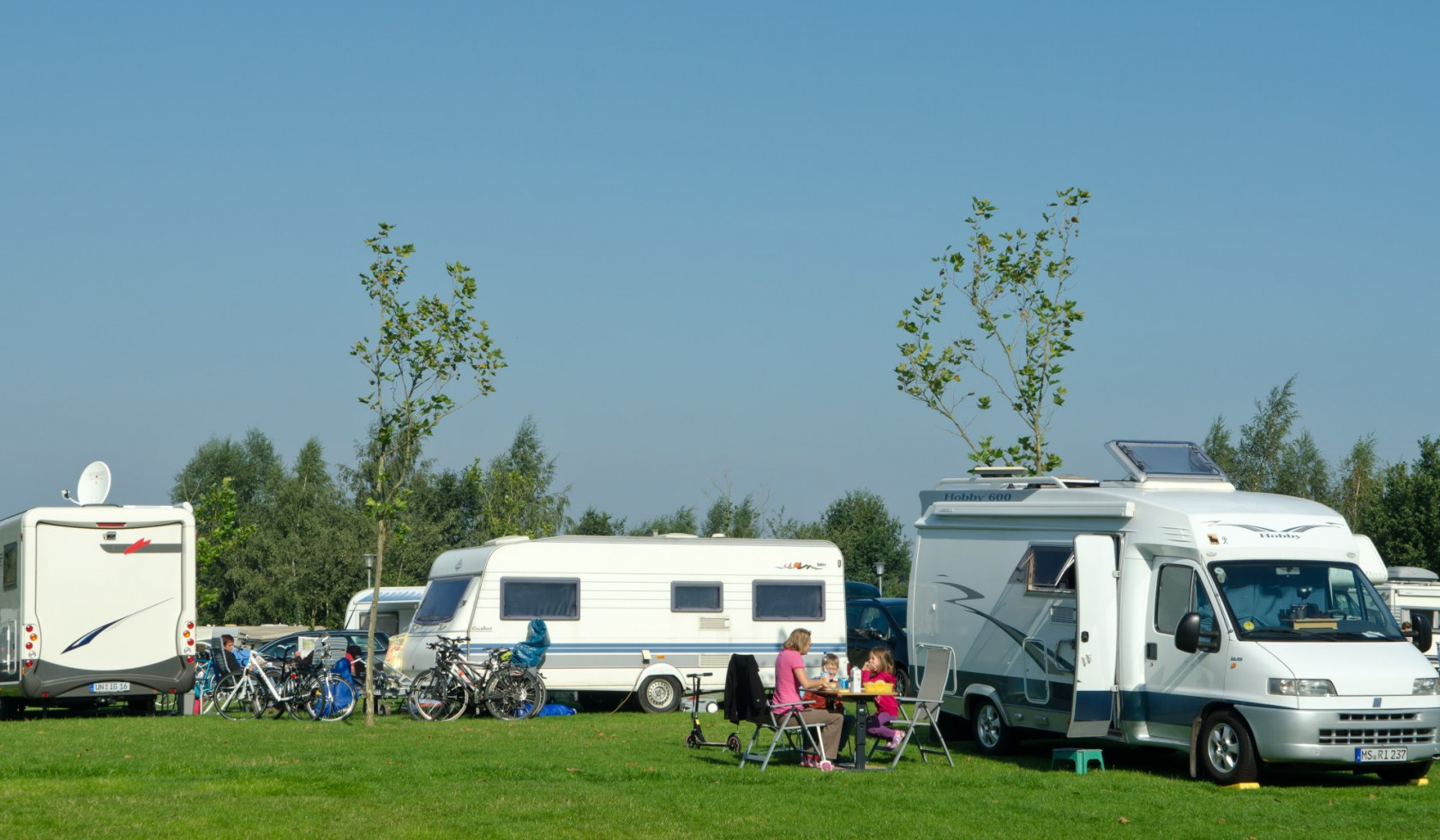 Camping site Alfsee