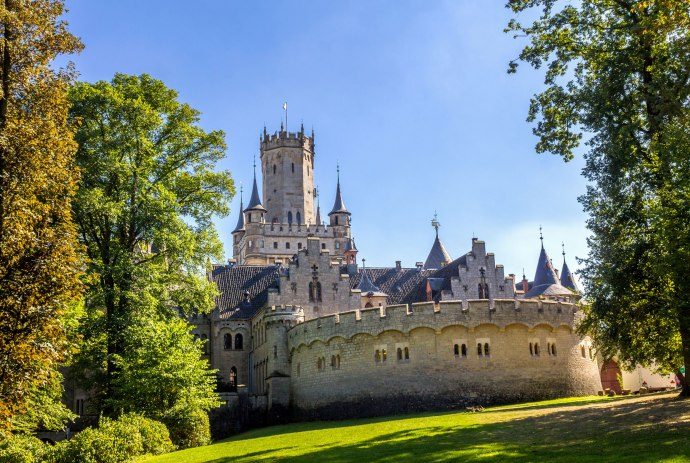 Castle Marienburg in the holiday region Hannover