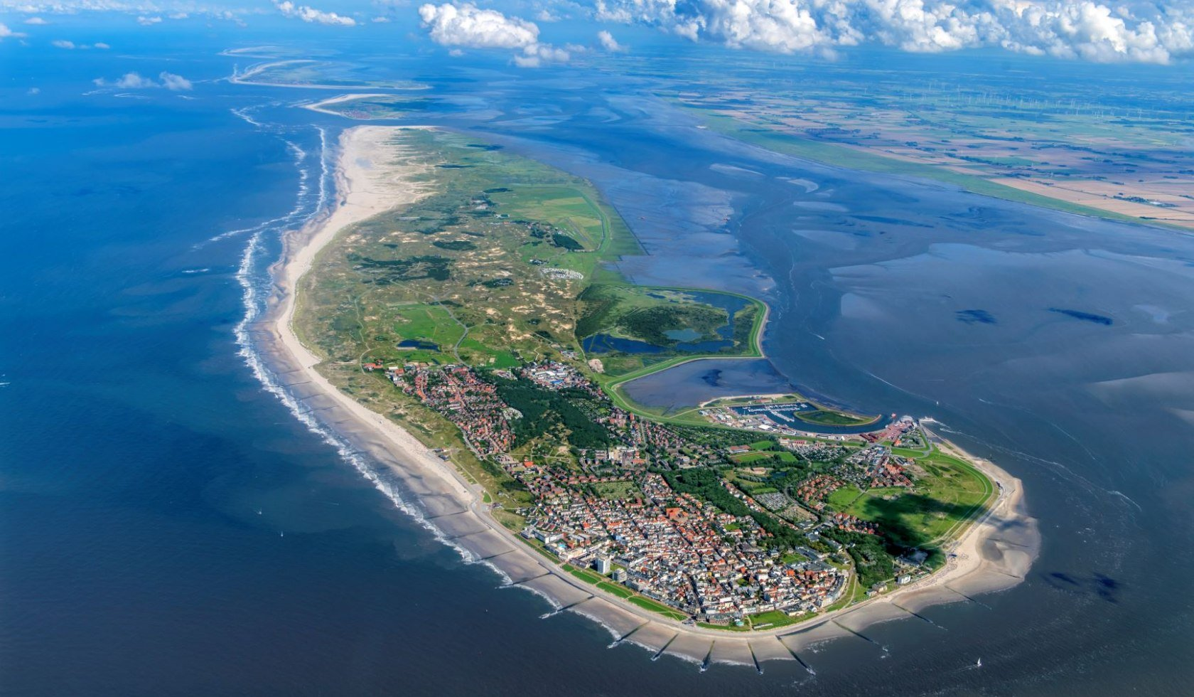 Norderney aerial view