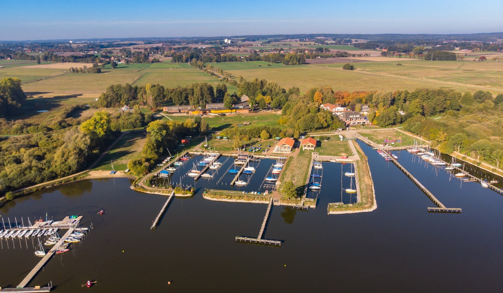 Olga harbour on the Dümmersee