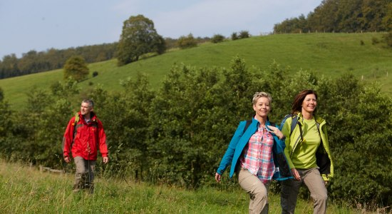 Hiking on the Weserbergland Route