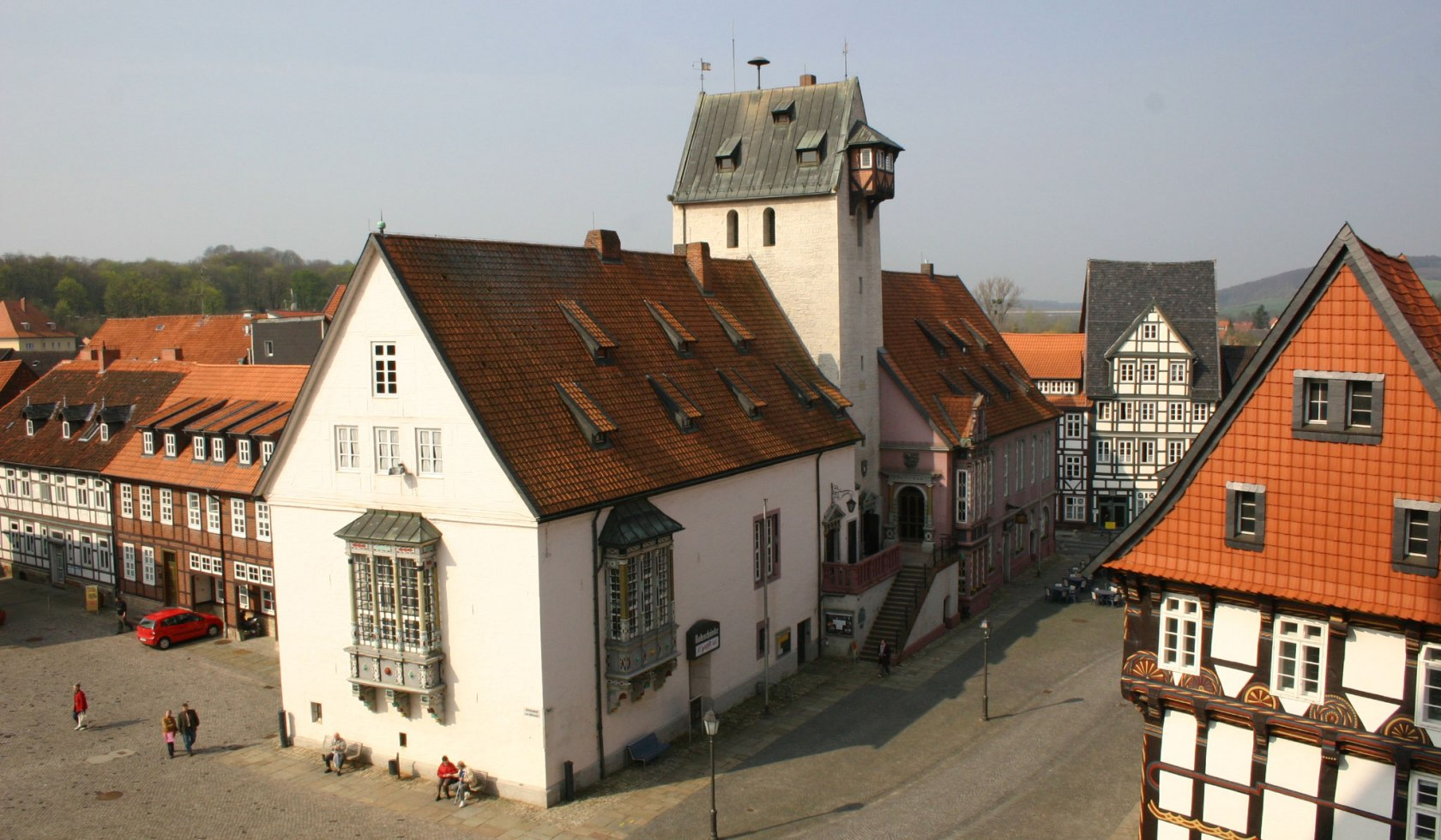 Town hall and market place