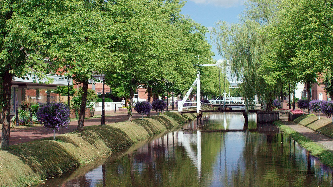Canal in Papenburg