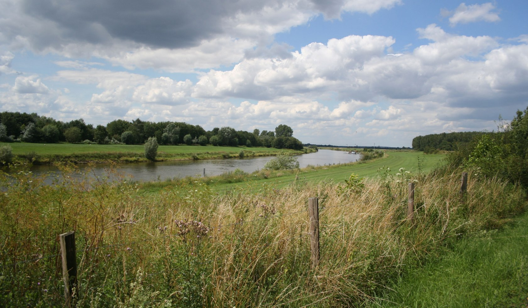 View of the Weser