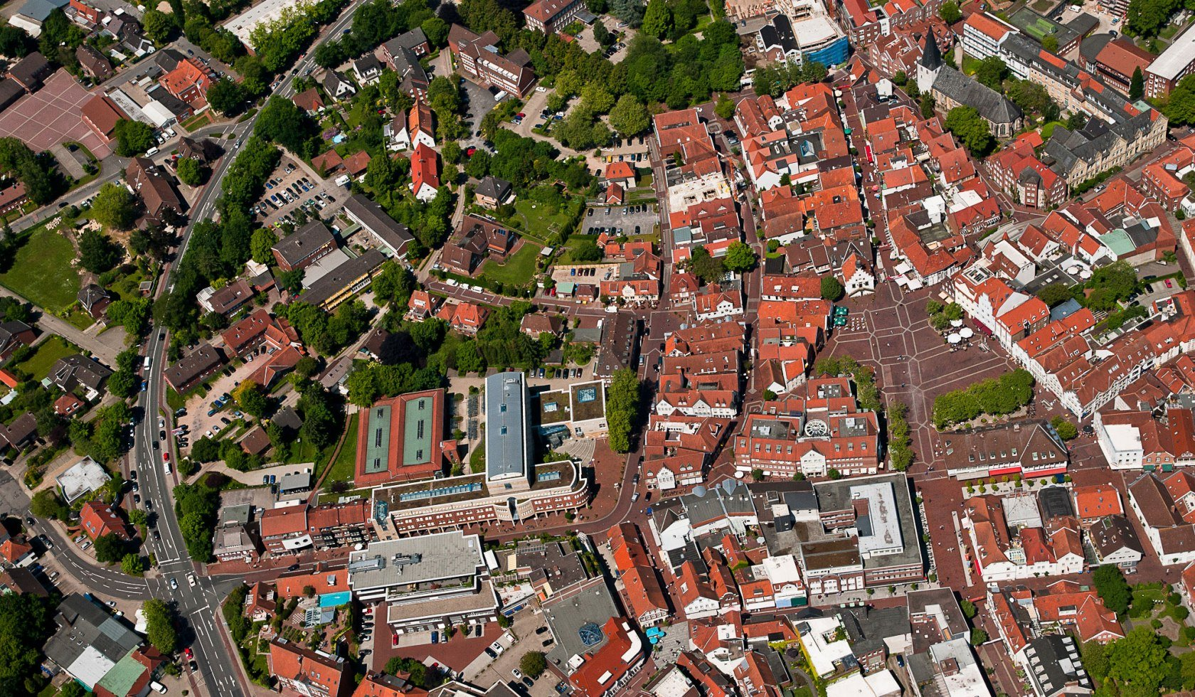 Lingen from above
