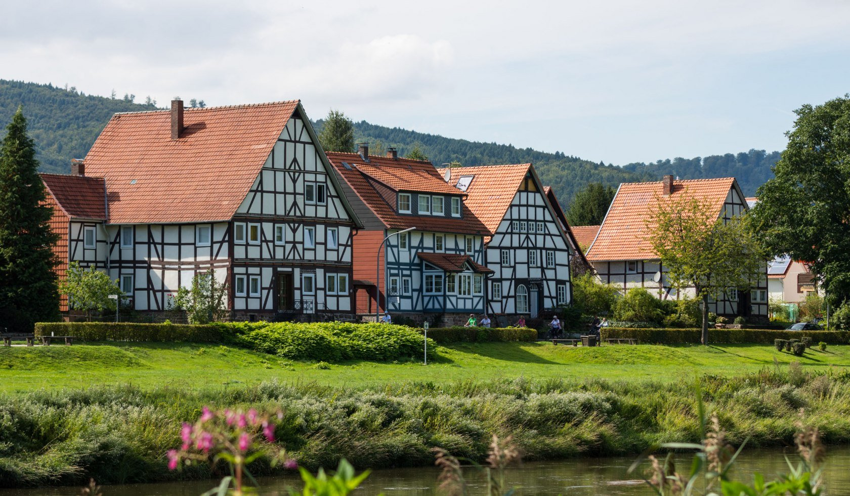 Half-timbered in the Natur Park Münden