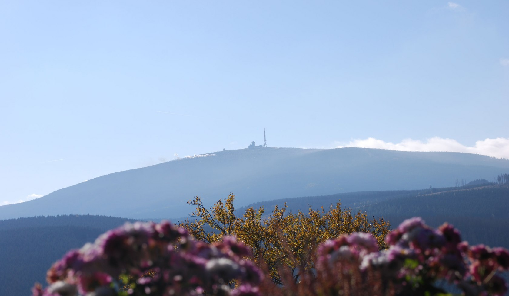 view from the Brocken mountain